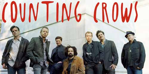 """COUNTING CROWS"" IN ARRIVO"
