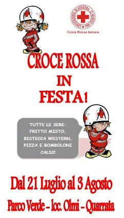 CROCE ROSSA IN FESTA