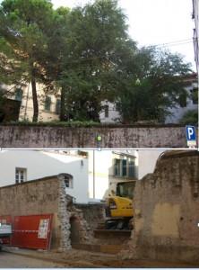 Giardino di Via abbi Pazienza, distrutto ma ancora sotto tutela nelpiano Cervellati