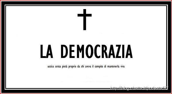 MONTALE E LA DEMOCRAZIA DEI DEMOCRATICI