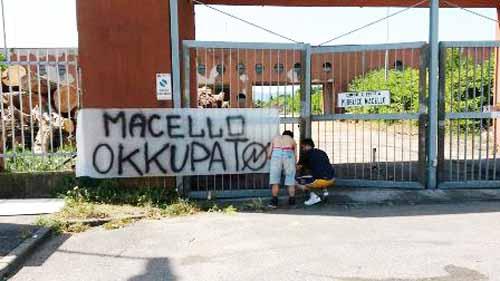FDI-AN CONTRO L'OCCUPAZIONE DELL'EX MACELLO