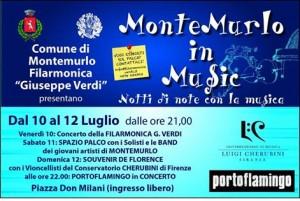 La locandina di Montemurlo in music