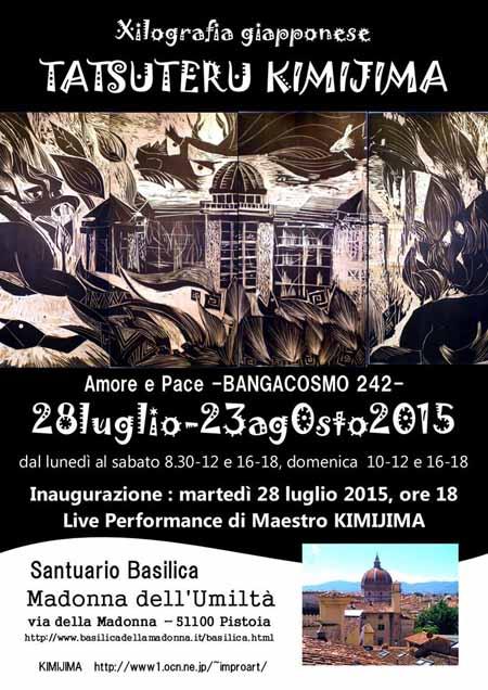 "AMORE E PACE, ""BANGACOSMO 242"" A PISTOIA"