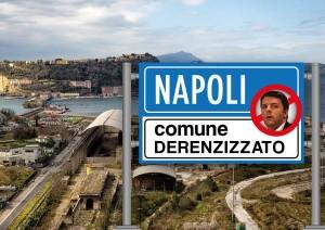 """Napoli città """"derenzizzata"""""""