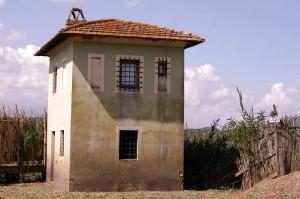 Osservatorio faunistico prima del restauro [foto Alessio Bartolini]