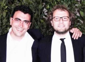 """Massimo Baldi con lo """"spelacchiato"""" Luca Lotti (uscito dal remake di Carlito's Way)"""