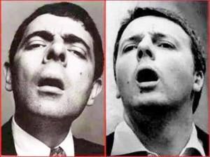 Renzi e Mister Bean