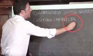 Renzi e la cultura umanista...