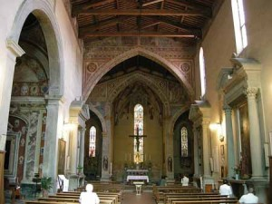 San Francesco a Pescia. Interno