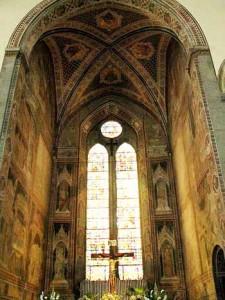 San Francesco a Pistoia. Cappella Maggiore