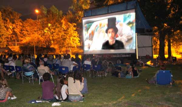 CINEMA ALL'APERTO: DIECI PROIEZIONI GRATUITE IN COLLINA E PERIFERIA