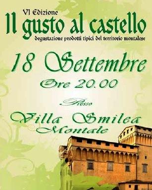 """MONTALE. """"IL GUSTO AL CASTELLO"""" ALL'INSEGNA DI 'EXPO 2015'"""