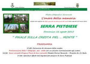 """invito cerimonia chiusura mostra fotografica itinerante """"L'onore della memoria"""""""