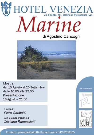 """""""MARINE"""", LA MOSTRA DI AGOSTINO CANGOGNI"""