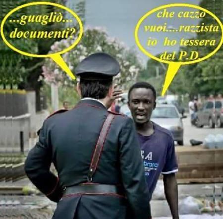 integrazione. ARRESTATO NIGERIANO STALKER CHE FACEVA IL VU' CUMPRÀ