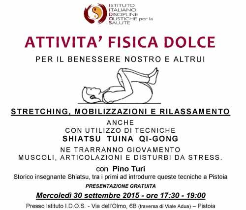 ATTIVITÀ FISICA DOLCE CONTRO I DISTURBI DA STRESS