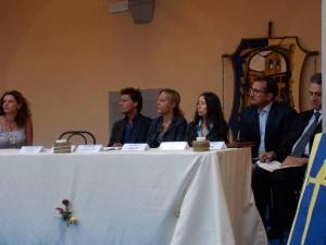 Il tavolo dei relatori sul vivaismo