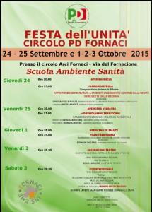 Festa dell'Unità Fornaci 2015