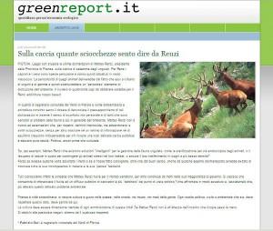 Geri contro Renzi su greenreport, 2006