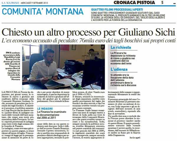 EX-COMUNITÀ MONTANA E SICHI: PER ECCESSO DI SPECIFICAZIONE