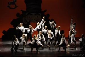 Le ballerine della New Ballet School