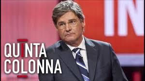 """Il conduttore di """"Quinta Colonna"""""""
