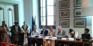 Il presidente Giani con il sindaco Martini