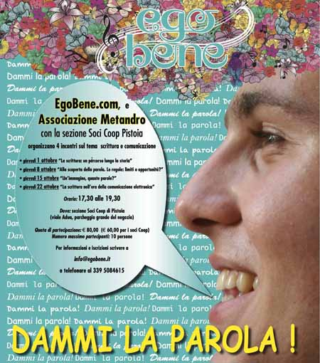PASSA… LA PAROLA! PERCORSI DI SCRITTURA ALLA COOP