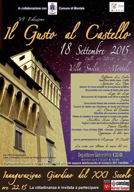 """""""IL GUSTO AL CASTELLO"""" VI EDIZIONE"""