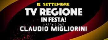 """""""TV REGIONE"""" IN FESTA"""