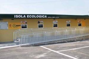 L'isola ecologica e centro raccolta di Montemurlo