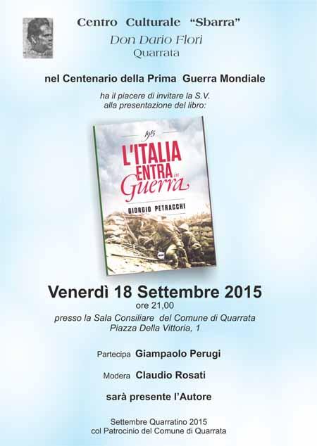 «L'ITALIA ENTRA IN GUERRA»