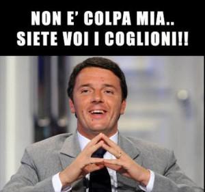 Renzi & gli italiani