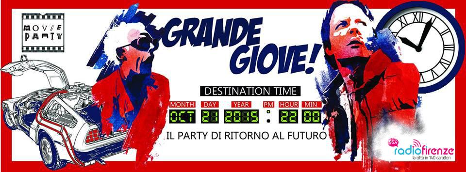 """""""GRANDE GIOVE!"""", ANCHE FIRENZE FESTEGGIA IL RITORNO DI MARTY E DOC"""