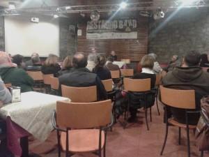 L'assemblea sulla fusione svoltasi all'Abetone