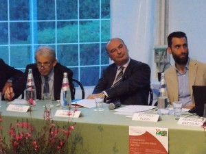 L'Assessore Marco Remaschi, Gianni Anselmi e Francesco Bartolini