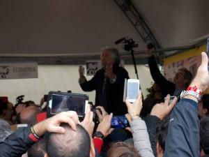 Beppe Grillo a Imola