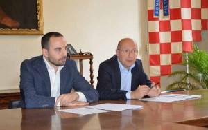 Giuliano Palagi con Bertinelli
