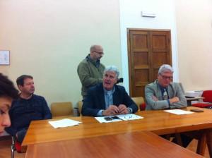 Moreno Seghi, Rinaldo Vanni e Renato Ferretti