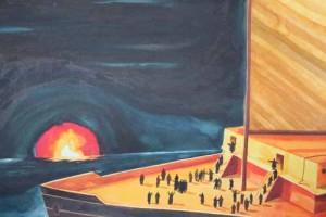 L'isola di fuoco, Luca Caimmi