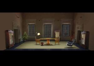 L'apparenza inganna regia F. Tiezzi_ bozzetto scena Gregorio Zurla - casa Karl