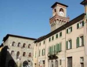 Piazza Mazzini a Pescia