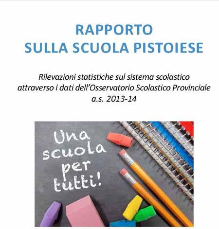 RAPPORTO SULLA SCUOLA PISTOIESE