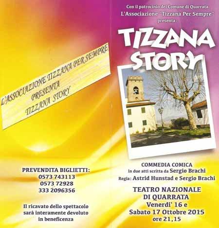 """DOPPIO APPUNTAMENTO CON """"TIZZANA STORY"""""""