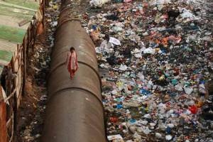 bidonville-de-Dharavi-dans-le-centre-de-Bombay