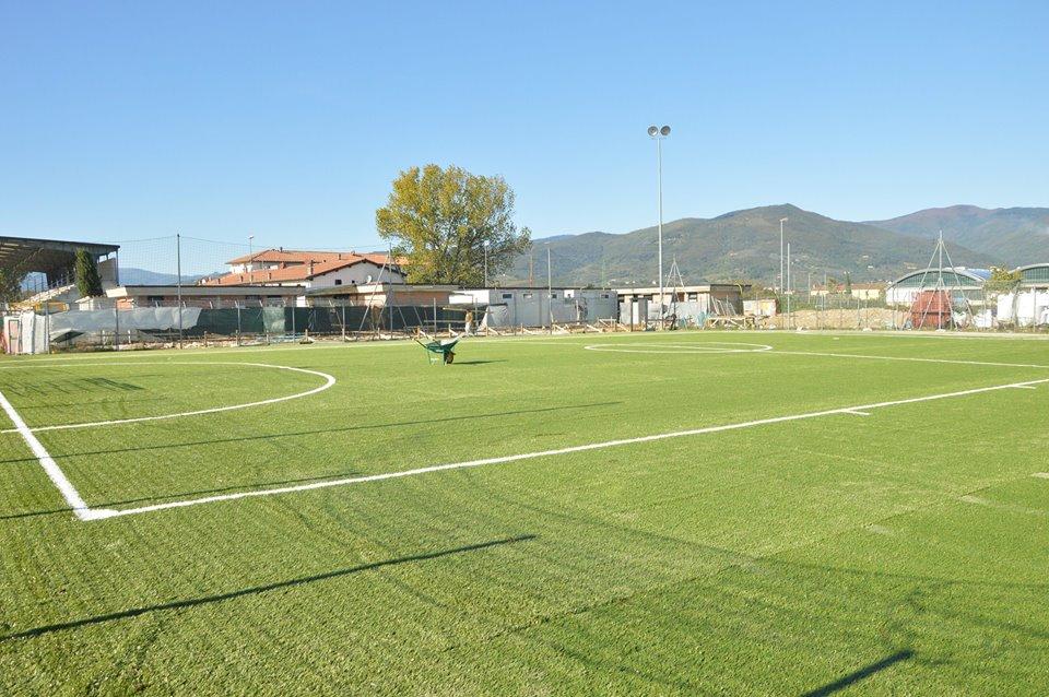"""OSTE. CONCLUSI I LAVORI AL CAMPO-ALLENAMENTI DELLO STADIO """"NELLI"""""""