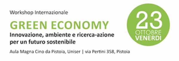 CONVEGNO SULLA GREEN ECONOMY