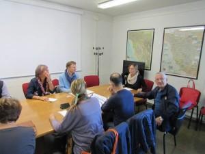 I comitati e l'assessore Fratoni