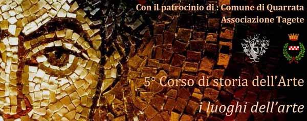 PARTE A NOVEMBRE IL CORSO DI STORIA DELL'ARTE