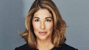 La giornalista Naomi Klein